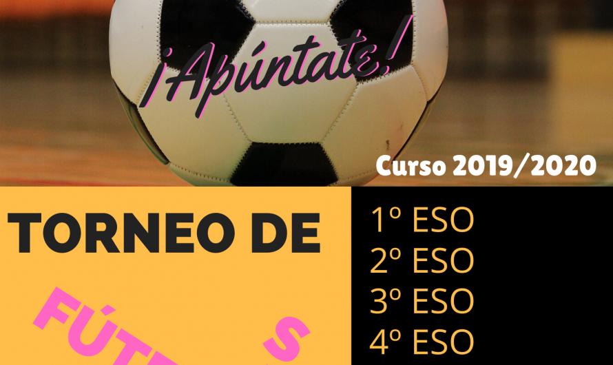 Torneo de Fútbol Sala: Abierto Plazo de Inscripción