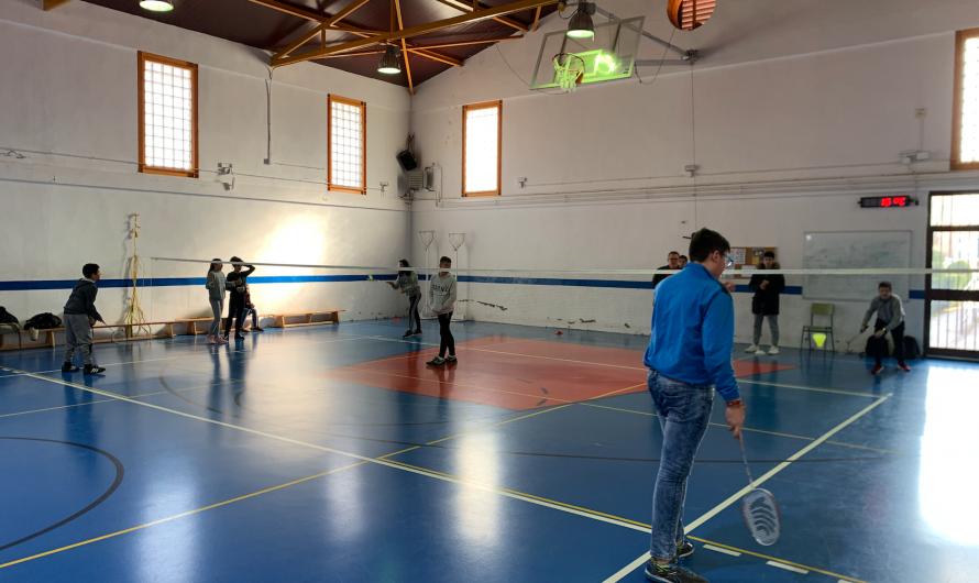 Torneo de Bádminton (recreos)