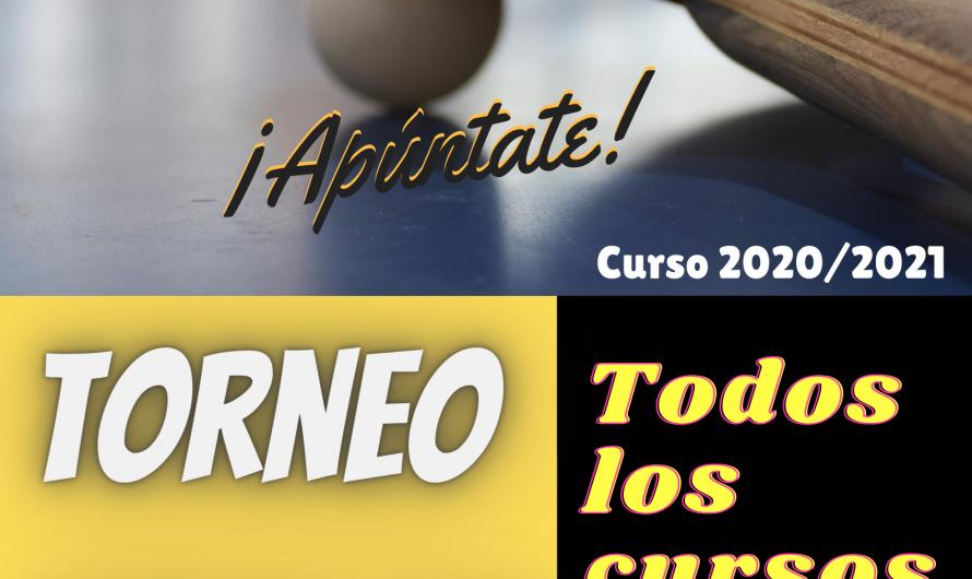 TORNEO TENIS DE MESA 2020-2021